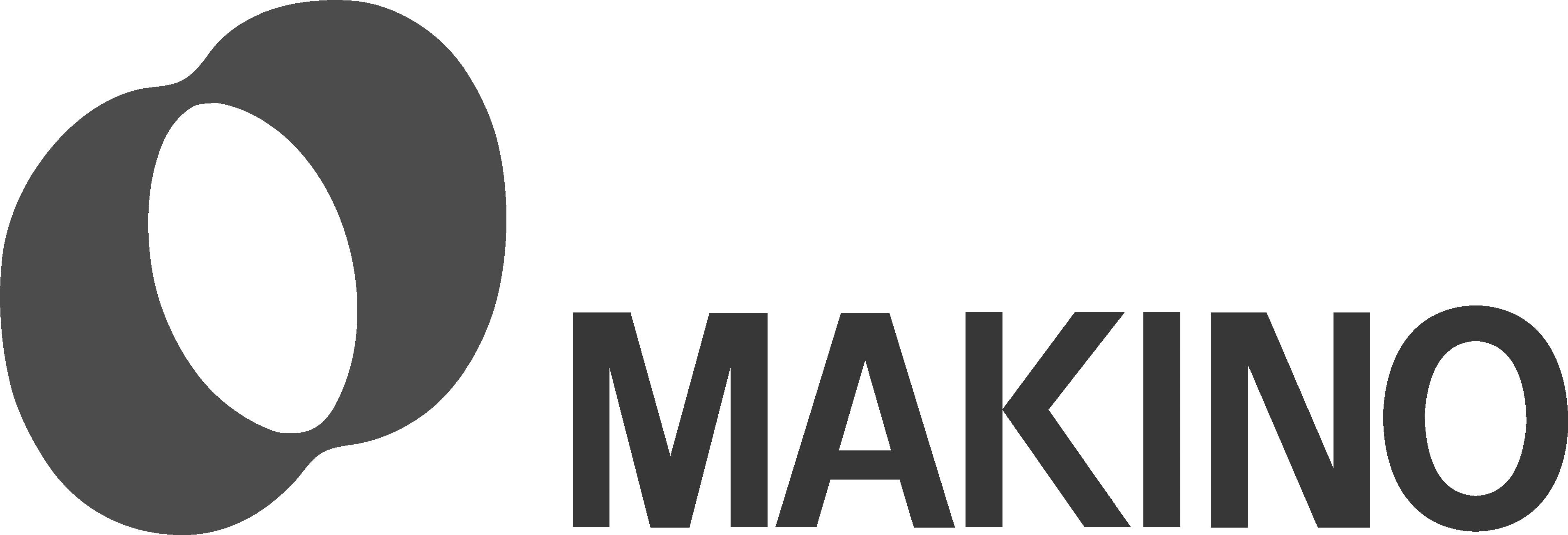 Logo_Makino_4C_A4_schwarz_weiss