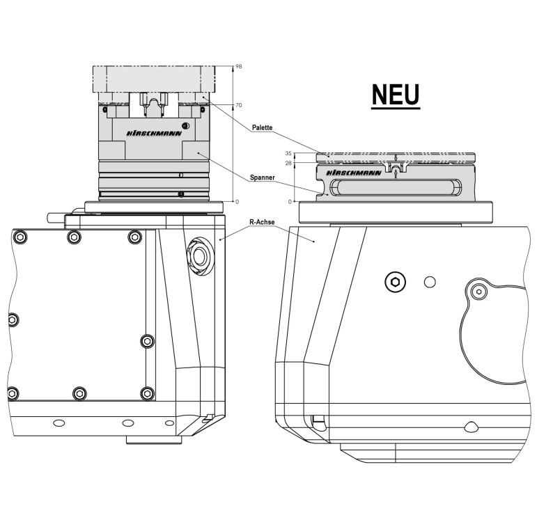 µ-PrisFix-Flat Spannsystem