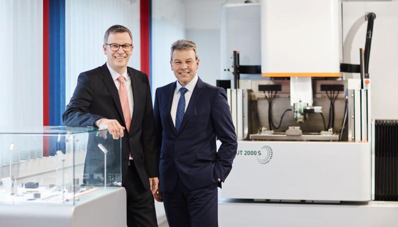 Unternehmensführung von Carl Hirschmann: Andreas Jesek (links) und Rainer Harter (rechts)